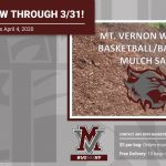 2020 Mt. Vernon Wildcat Mulch Sale!