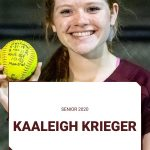 Spring Senior Spotlight:  Kaaleigh Krieger