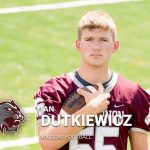 Dutkiewicz selected 2020 Scholar Athlete by National Football Foundation