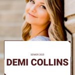 Senior Spotlight:  Demi Collins