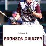 Spring Sport Senior Spotlight:  Bronson Quinzer