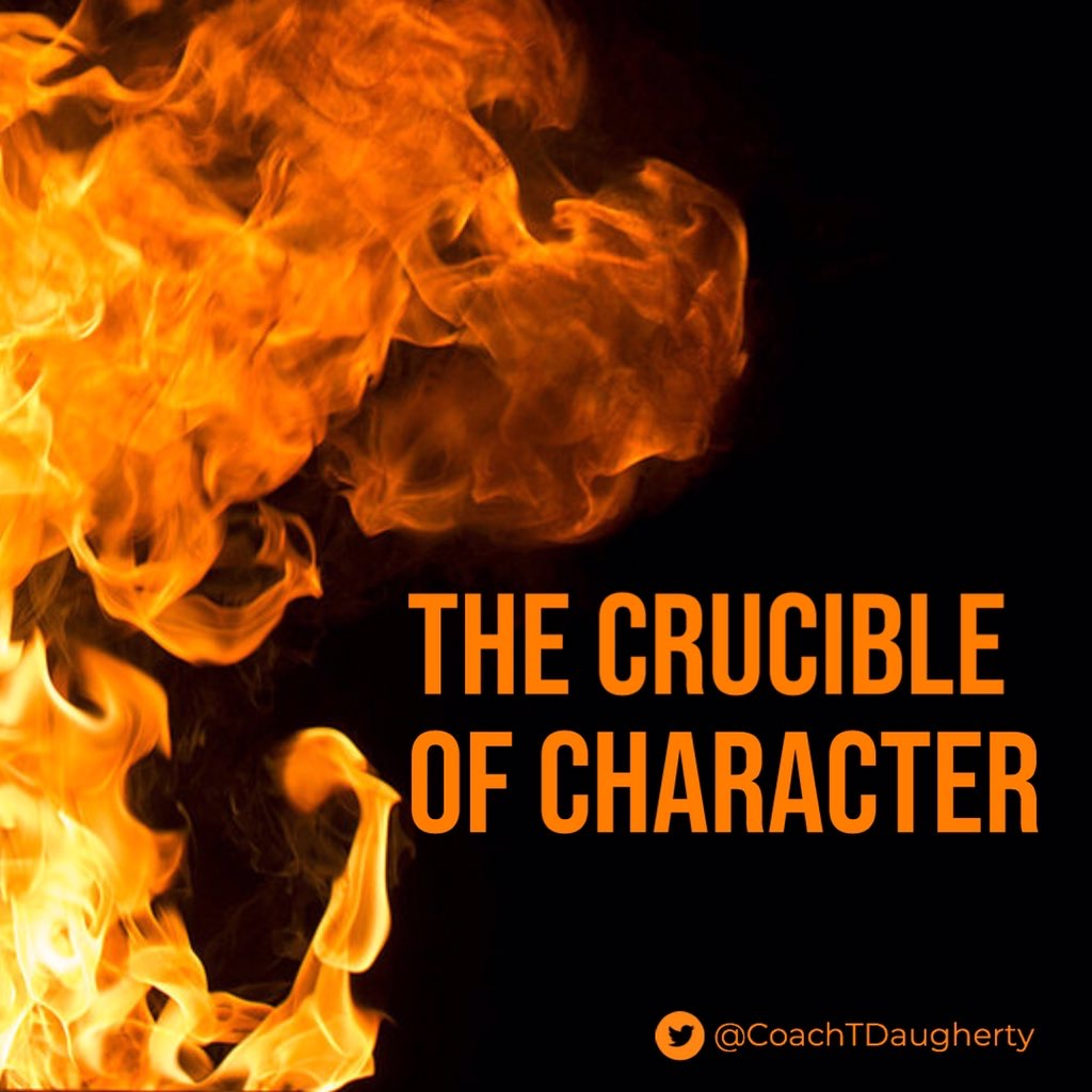 The Crucible of Character – Travis D.