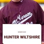 Spring Sport Senior Spotlight:  Hunter Wiltshire