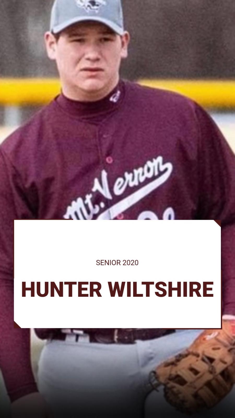 Spring Sport Senior Spotlight:  Hunter Wiltshire