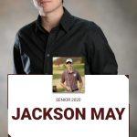 Spring Senior Spotlight:  Jackson May