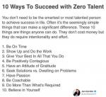 10 WAYS TO SUCCEED WITH ZERO TALENT – Jon Gordon