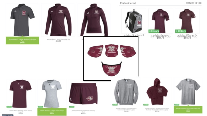 2020 Volleyball online Store