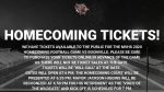 Football Homecoming 9/25 – Tickets Open to the Public!
