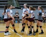 Girls Junior Varsity Volleyball falls to Ev. North 2 – 0