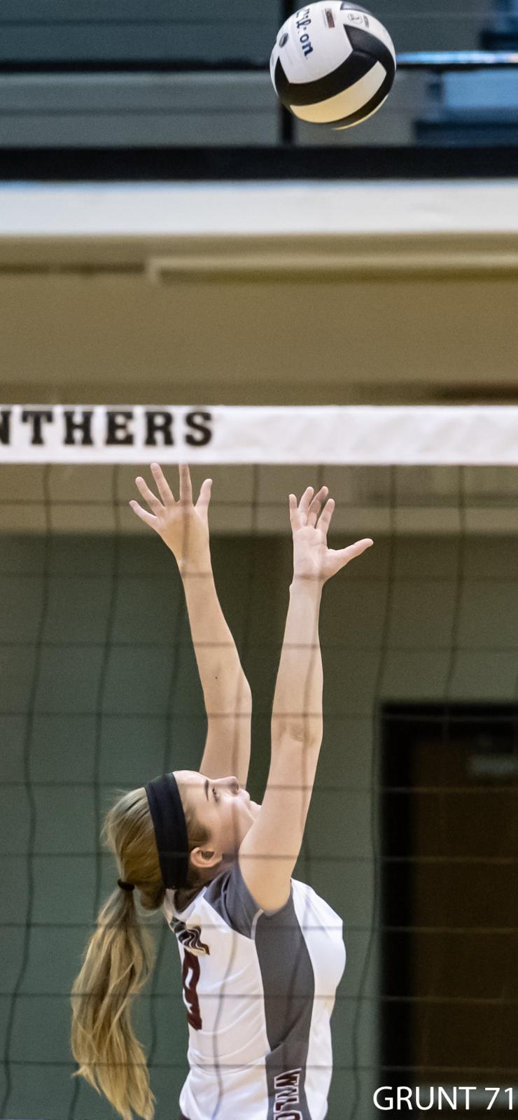 Volleyball Regionals vs. Silver Creek