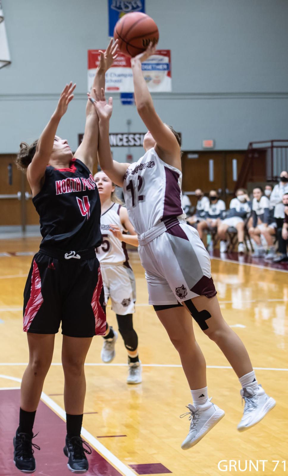 Girls Basketball vs.North Posey