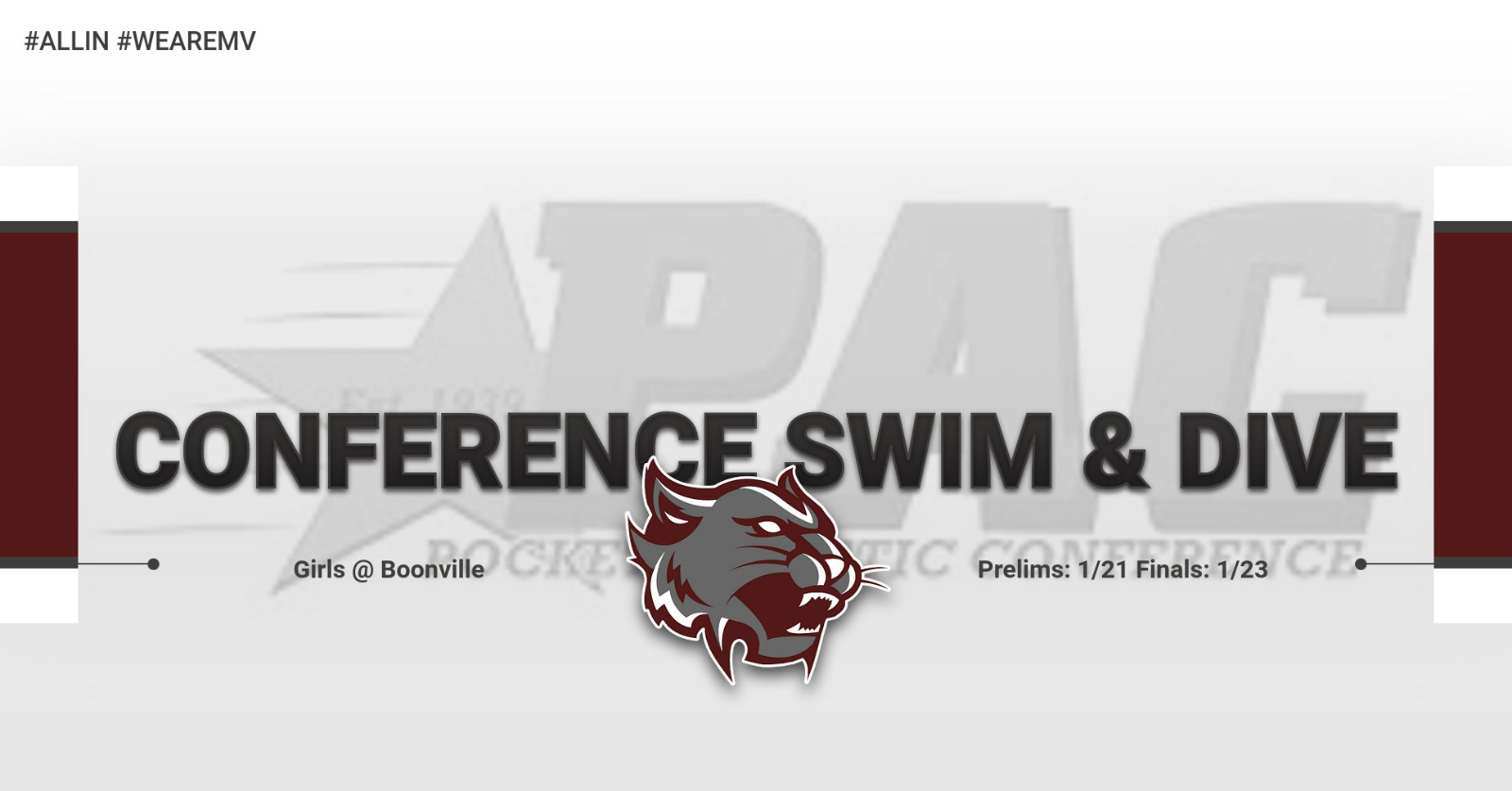 Girls Swimming & Diving to Compete at PAC Tournament!
