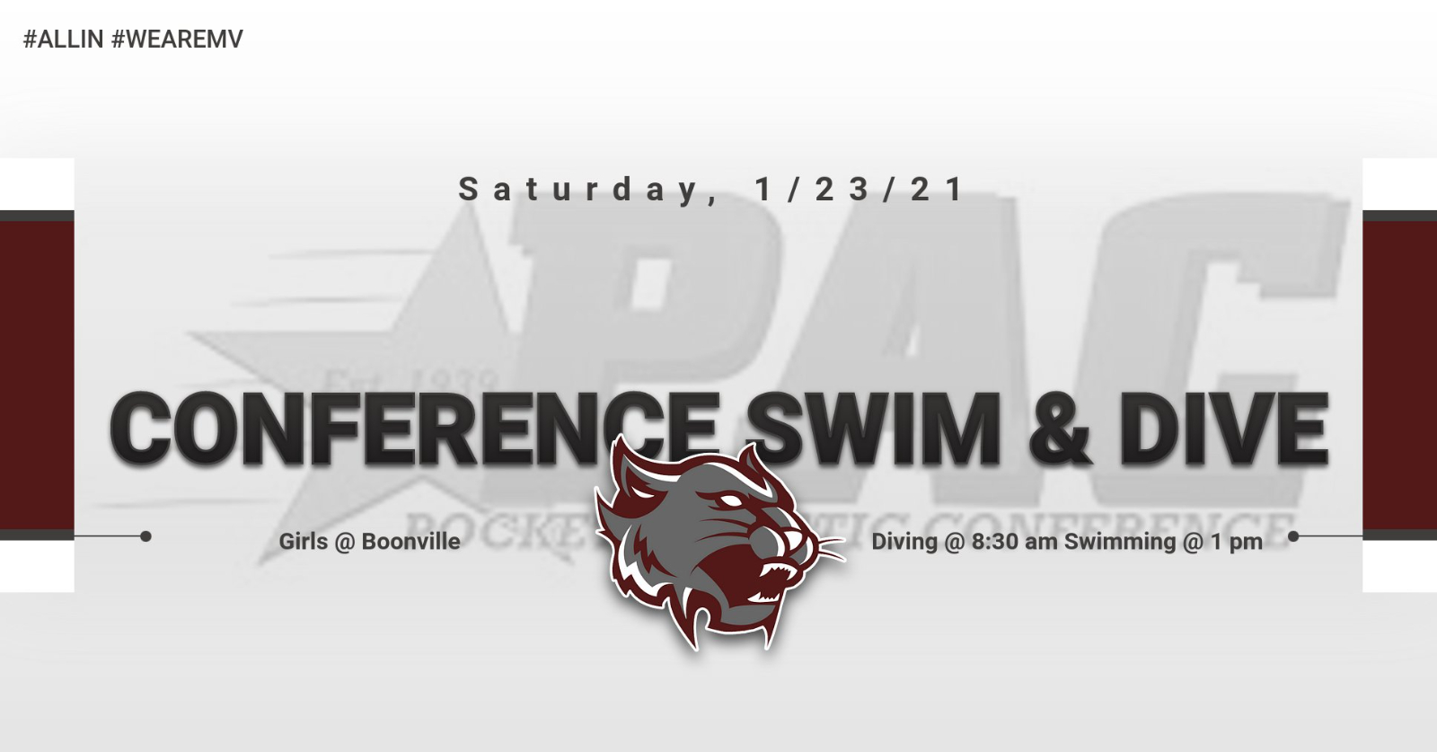 PAC Swimming & Diving Championship Information!