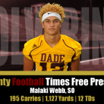 DCHS Football CTFP All Star