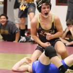 Middle School Wrestling Practice
