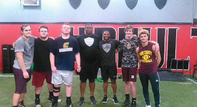 DCHS Football at Ultimate 48
