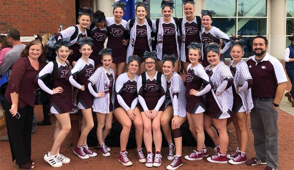 DCHS Cheerleaders @ State