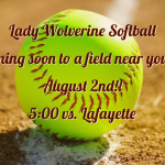 Lady Wolverine Softball…..Coming Soon!