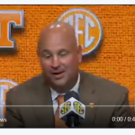Coach Jeremy Pruitt Speaks About His Father at SEC Media Days
