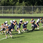 DMS Football Opens Season With Scrimmage