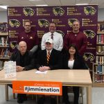 Ian Howell Signs National Letter of Intent