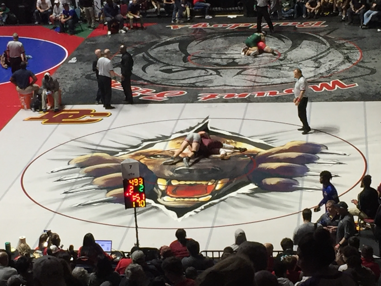 Six Wrestlers Place at GHSA State Traditional Tournament