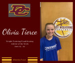 DCHS Weight Training/Conditioning Athlete of the Week