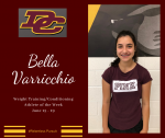 DCHS Weight Training/Conditioning Athlete of the Week June 15-19