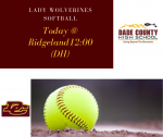 Opening Day for the Lady Wolverines Softball Team