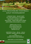 2020 Wolverine Football Golf Tournament – Sign up now