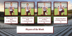 Players of the Week for Week 5
