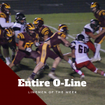 Linemen of the Week – The Entire O-LINE