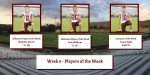 Week 9 Players of the Week – Gordon Central