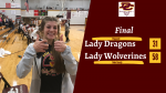 Lady Wolverines Earn Region Win over Lady Dragons