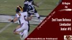 "Congratulations Cayden Cooper – ""All Region 2nd Team Defense – LB"""