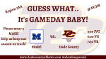 GAMEDAY – Model HS vs. DCHS – Region 7AA Contest