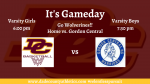 It's Gameday! DCHS Basketball vs. Gordon Central