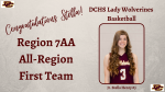 Stella Henry Selected to 7AA All-Region First Team