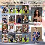 DCHS Cheerleaders make All-Region Team
