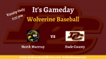 Wolverine Baseball at Home Today