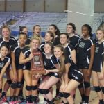 6A State Volleyball Runner Up