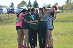 Girls Cross County State Qualifying
