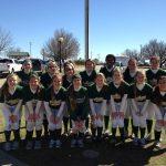 Pelham High School Varsity Softball beat John Carroll Catholic High School 7-1