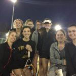 Pelham High School Girls Varsity Tennis falls to Northridge High School 2-7