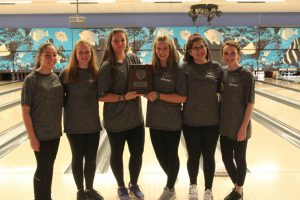 2017 Pelham girls bowling, AHSAA South regionals