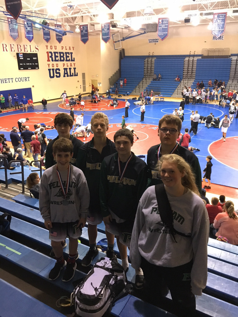 PPMS Wrestlers bring home medals at Vestavia Kickoff Classic