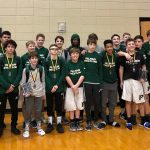 Boys Middle School Wrestling finishes 2nd place at Southern Conference Tournament