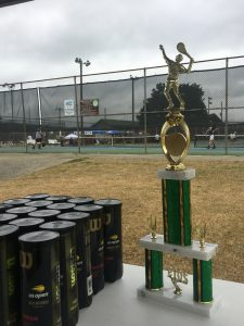 Boys Shelby Co. Tennis Tournament