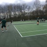 Boys Varsity Tennis Drop a Close One to Mortimer Jordan