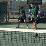 Boys Varsity Tennis falls to Hillcrest.
